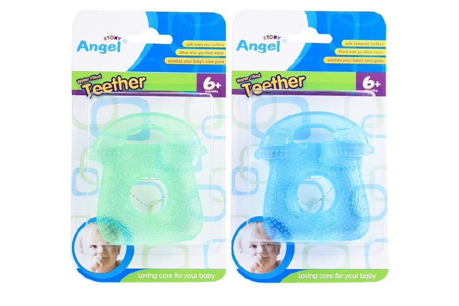 Telephone Shaped Water Filled Teether