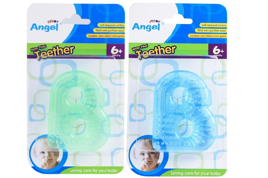 B Shaped Water Filled Teether