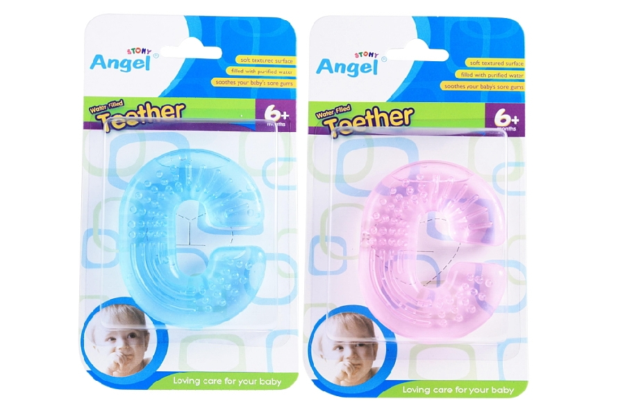 C Shaped Water Filled Teether