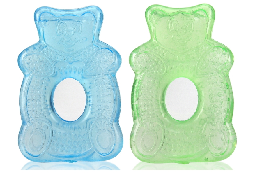 Bear Shaped Water Filled Teether