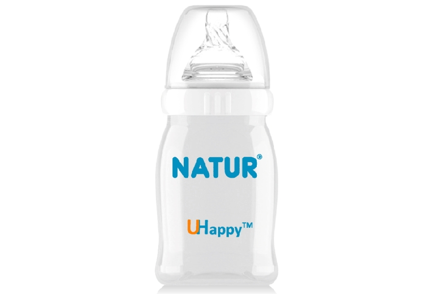 120ml UHappy Wide Neck Bottle