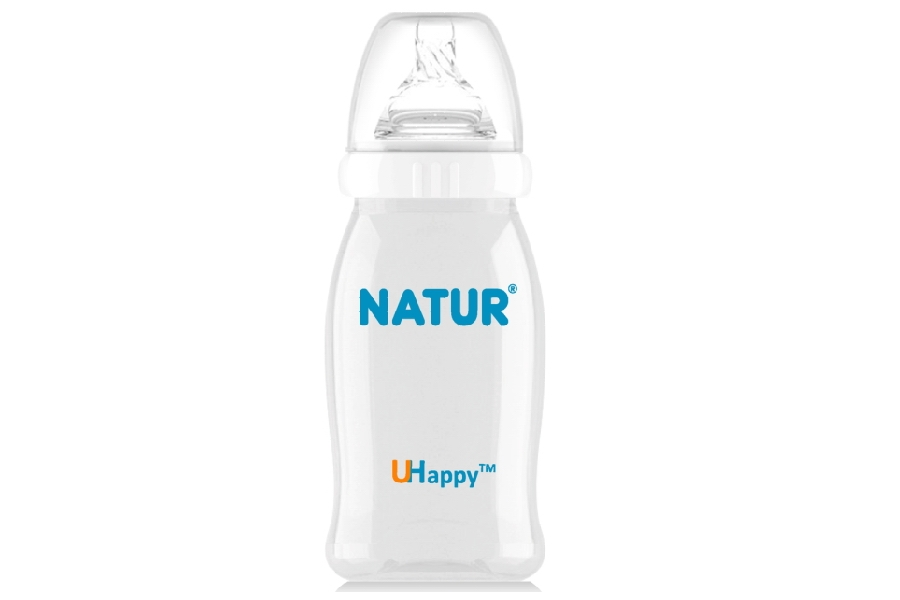 240ml UHappy Wide Neck Bottle
